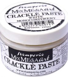 Stamperia Mixed Media Art - Crackle Paste 150ml White